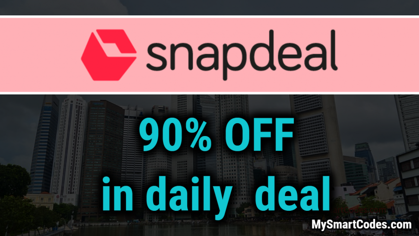 Snapdeal latest coupon